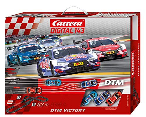 Carrera DIGITAL 143 20040040 DTM Victory Autorennbahn Set