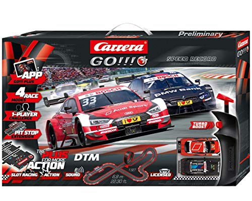 Carrera GO PLUS 20066009 DTM Speed Record Autorennbahn Set